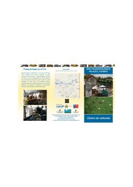 folleto centro de visitantes