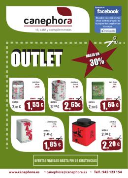 Folleto Outlet 2014