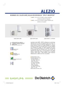 folleto tecnico ALEZIO