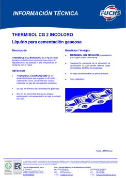 thermisol cg 2 inc.