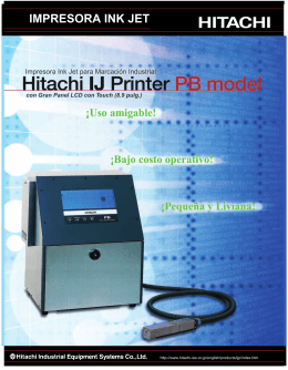 Folleto HITACHI Mod PB imprenta.cdr