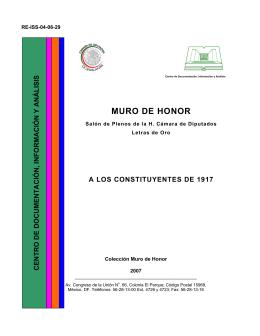 A los Constituyentes de 1917