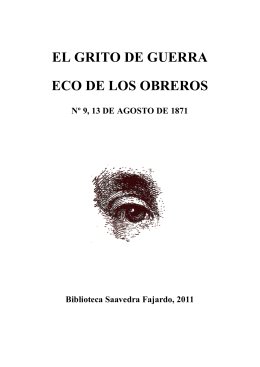 versión pdf - Biblioteca SAAVEDRA FAJARDO de Pensamiento