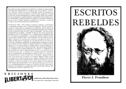 ESCRITOS REBELDES - Folletos Libertad