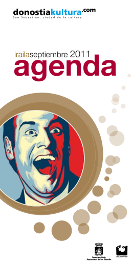 agenda - Donostia Kultura