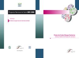 folleto cofepris / programa nacional de salud 2001-2006