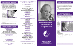 Abuso doméstico… - Maryland Network Against Domestic Violence