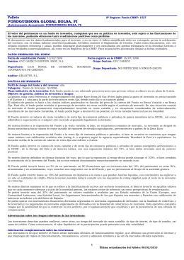 Folleto Completo - GVC Gaesco Gestión