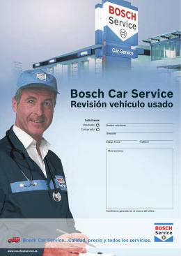 Folleto - Bosch Car Service