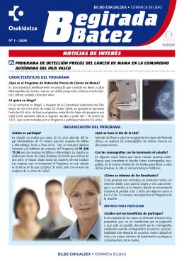 Begirada Batez Nº1 2008( pdf , 623 KB )