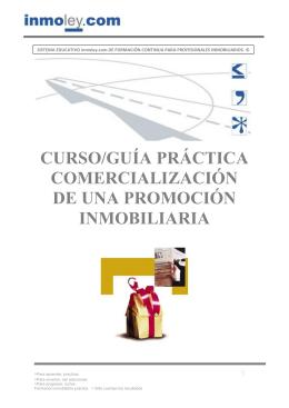 curso/guía práctica comercialización de una promoción