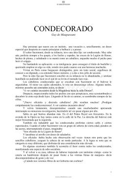 CONDECORADO - Elbibliote.com