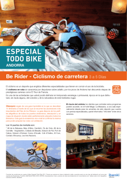 ESPECIAL TODO BIKE