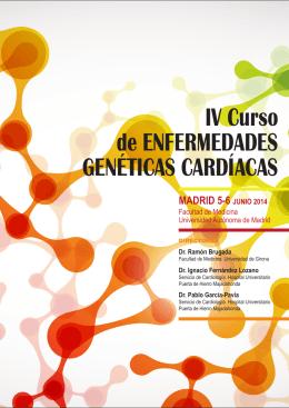 IV Curso de ENFERMEDADES GENÉTICAS CARDÍACAS