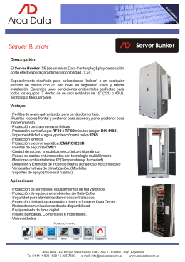 Folleto Smart Bunker (SP)