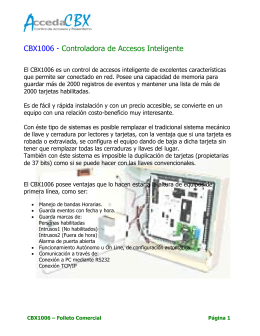 CONTROL DE ACCESOS AUTNOMO