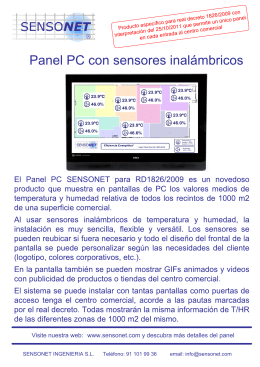 Folleto Panel PC RD1826 (formato PDF)