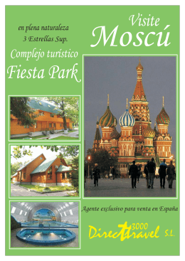FOLLETO FIESTA PARK - MOSCU