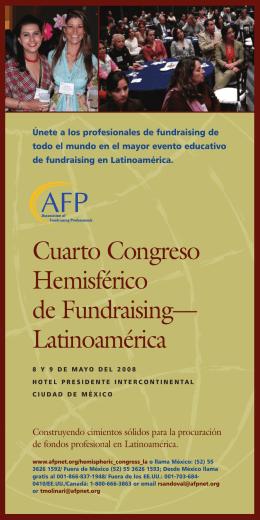 Cuarto Congreso Hemisférico de Fundraising— Latinoamérica