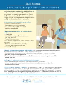 En el hospital: Cómo ayudar a mi hijo a