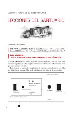 LECCIONES DEL SANTUARIO