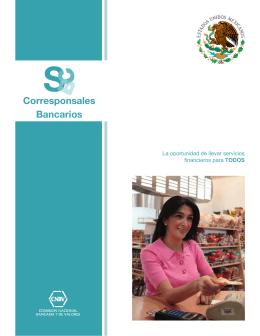 Corresponsales Bancarios - Comisión Nacional Bancaria y de Valores
