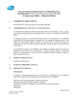 FOLLETO DE INFORMACIÓN AL PROFESIONAL SULPERAZON