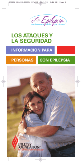 LOS ATAQUES Y LA SEGURIDAD - Wyoming Epilepsy Association
