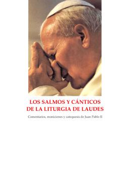 LOS SALMOS Y CÁNTICOS DE LA LITURGIA DE LAUDES