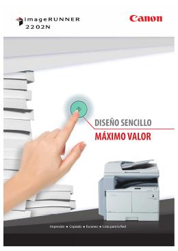 Brochure imageRUNNER 2202N