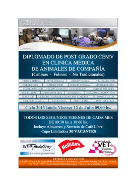 Folleto Divulgatorio Diplomado en Clínica Médica CEMV