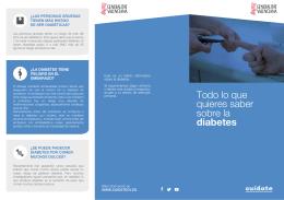 Todo lo que quieres saber sobre la diabetes