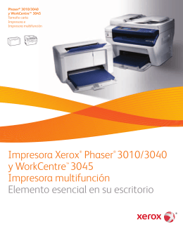 WorkCentre 3045 Brochure