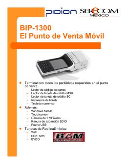 BIP-1300_El PDV Movil