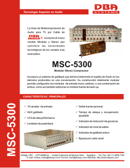 MSC-5300 - DBA Systems