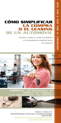 cómo simplificar la compra o el leasing de un automóvil