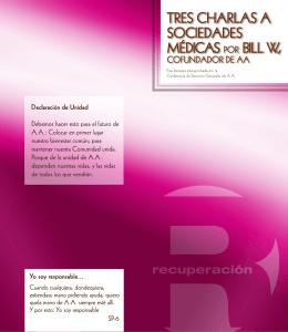 3 charlas a sociedades medicas