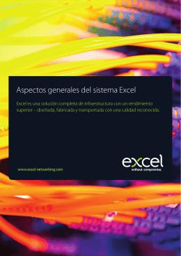 Aspectos generales del sistema Excel