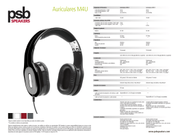 13-014_PSB-Headphone Specs_Spanish–F.indd