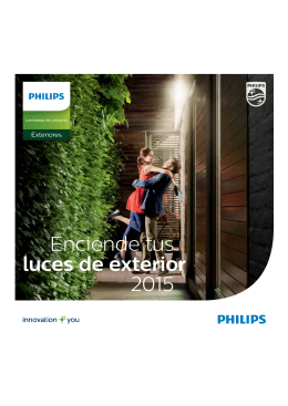 PHILIPS Folleto+PVR 2015 Outdoor 2