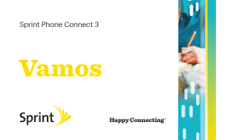 Sprint Phone Connect 3