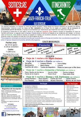 folleto itinerante 2.. - Programas Internacionales
