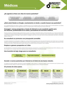 Medicos-Web - Prospect Factory