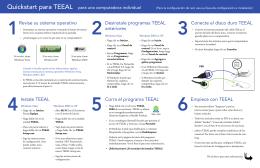 Revise su sistema operativo Desinstale programas TEEAL