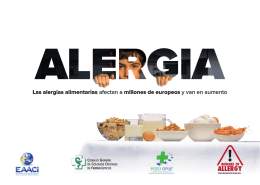 Flyer campaña FoodAllergy