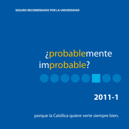 ¿probablemente improbable?