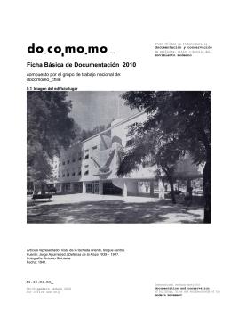 Ficha Básica de Documentación 2010