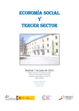 Jornada IEF julio 2015. Programa definitivo