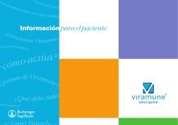 Información para el paciente - Viramune.nl