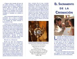 Crismación - Iglesia Católica Apostólica Ortodoxa de la Santísima